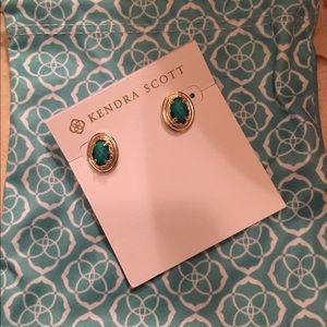 Never been worn Kendra earrings